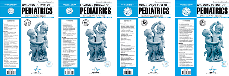 Revista Romana de Pediatrie